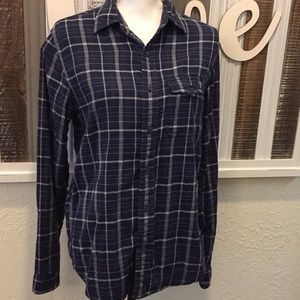 GAP Long Sleeve Plaid Shirt